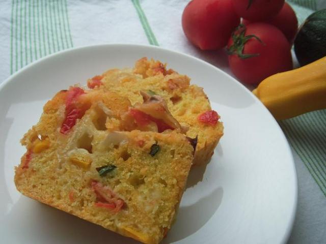 ケーク・サレを作ってみよう / 夏野菜をふんだんに使ったヘルシーレシピ