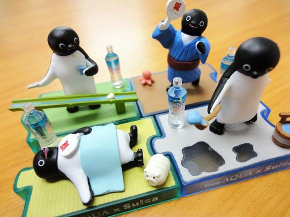 期間限定! Suicaペンギンの夏の風物詩フィギュアを全種類集めてみた!