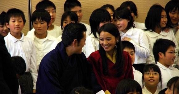国王 夫妻 ブータン