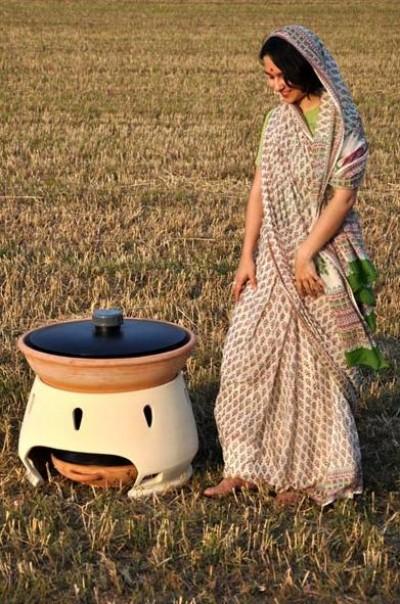 これ欲しい!太陽熱を利用した 素焼きの浄水器
