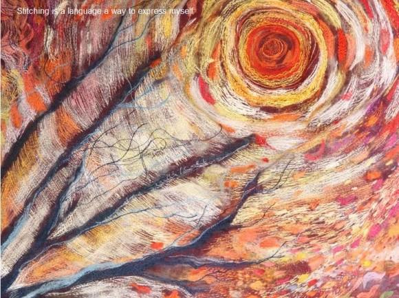 刺繍とは思えない鮮やかな色彩に驚愕! アーティストKayla cooの世界