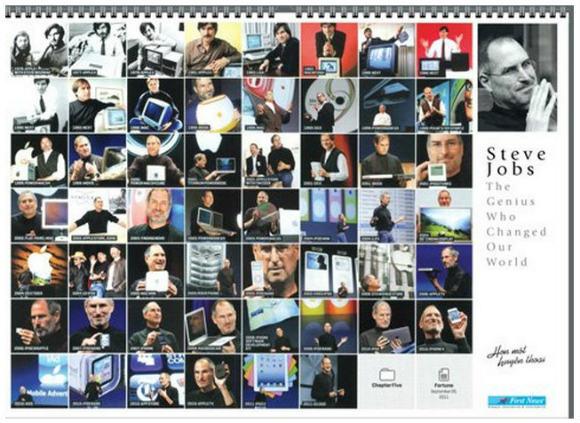なぜかベトナムで発表された『スティーブ・ジョブズ2012年カレンダー』が秀逸だと話題に