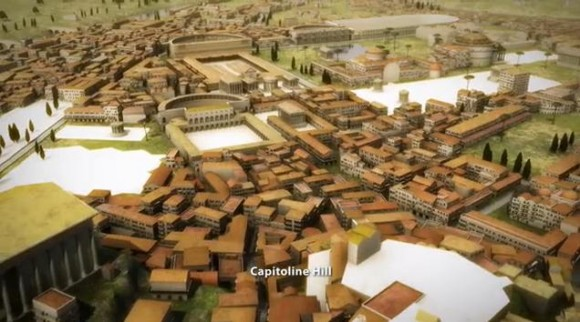 当時にタイムスリップしたみたい! 古代ローマ人の気分を味わえる3DCG映像がスゴイ