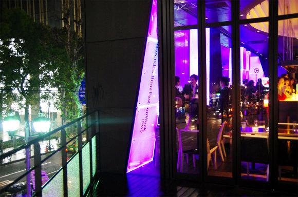 【2012-13 A/W 東京コレクション】メルセデスベンツで開催された「ナイト パーティ」に潜入/ お土産の中身もご紹介します♪