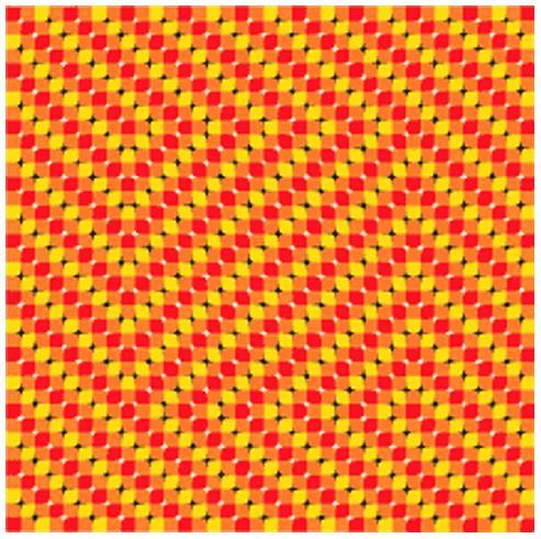 【目の錯覚】頭を動かして見ると浮き出る画像がスゴイ!