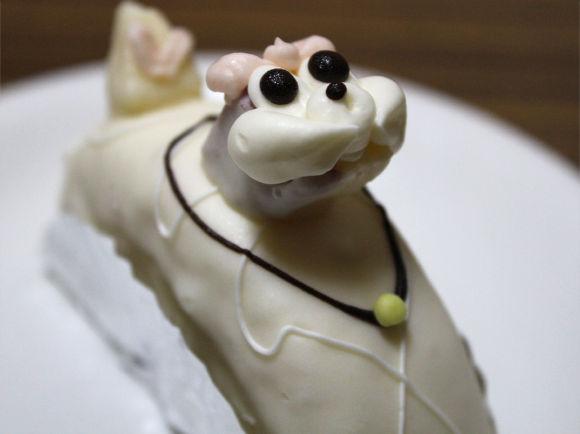 『ハチクロ』にも出てきた柏水堂のプードルケーキは乙女度MAX! 見ているだけで幸せなのだ♪