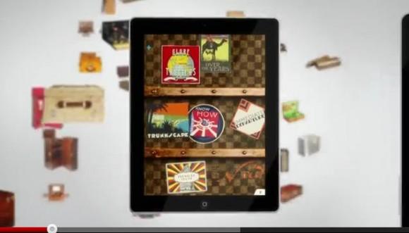 ついに出た! ファン必見の「ルイ・ヴィトンiPad専用アプリ」お値段は驚愕の1650円!