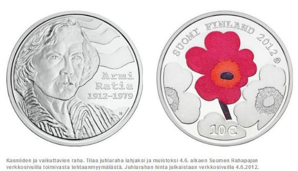 北欧はコインまでラブリーなのね! フィンランドでマリメッコ・デザインの超キュートなユーロ硬貨が発行されたよ
