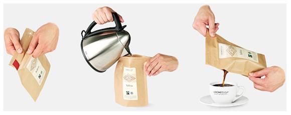 これからのインスタントコーヒーはこうなる!? 新しいスタイルの本格お手軽コーヒーパック