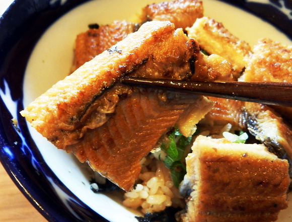 【腹ペコ女子のマンガ料理】スーパーのうなぎを何倍もおいしく食べるコツ! ラズウェル細木『う』よりスーパーうな丼を作ってみたよ!