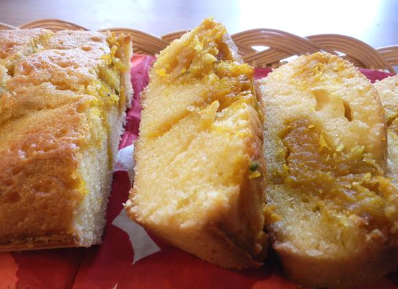 【腹ペコ女子のマンガ料理】マーブル模様が超カワイイ! かぼちゃのパウンドケーキ( よしながふみ『フラワー・オブ・ライフ』より)