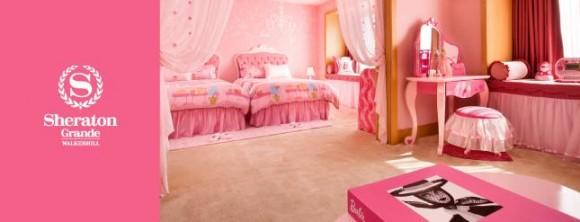 これぞ女子の夢! バービーの世界を体感できるお部屋を韓国シェラトンホテルで発見したよ~