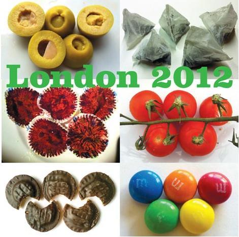 これを見れば英国が丸わかり!? ロンドンっぽい素材で五輪を作ったオリンピックポスター