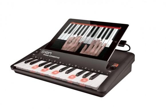 ピアノを始めたい方必見! iPadやiPhoneでピアノが練習できちゃう機械が発売されたよ~