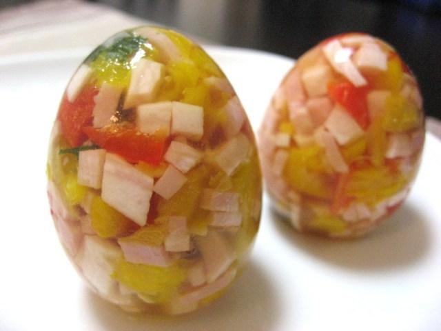 肌荒れ対策にも! 目にも楽しいゼリー卵を作ってみたよ!