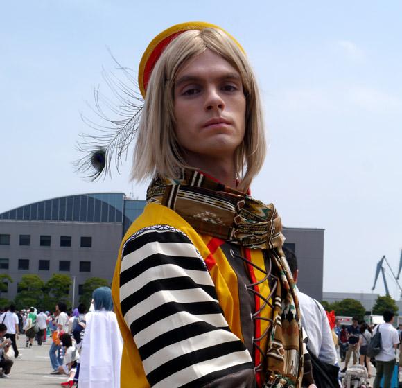 コミケで見かけた外国人コスプレイヤーが人気モデル「栗原類」そっくりのイケメンでしたよッ!