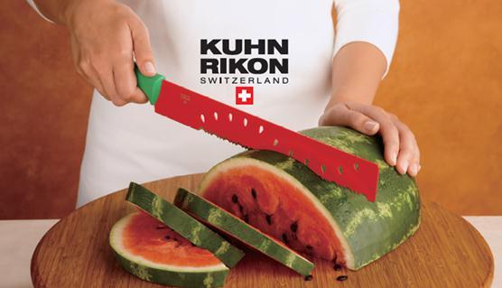 OH グッドデザイン! スイカの形をした超キュートなスイカ専用ナイフ