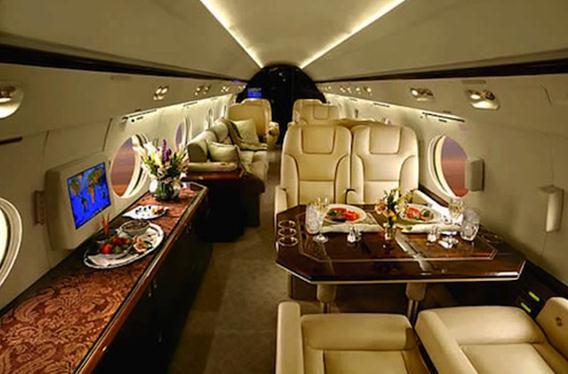 あ~憧れのラグジュアリー旅! 高級ジェット機の機内画像で妄想旅行にGO!