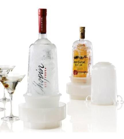 お酒の瓶をまるごと凍らせる大胆なボトルクーラー登場