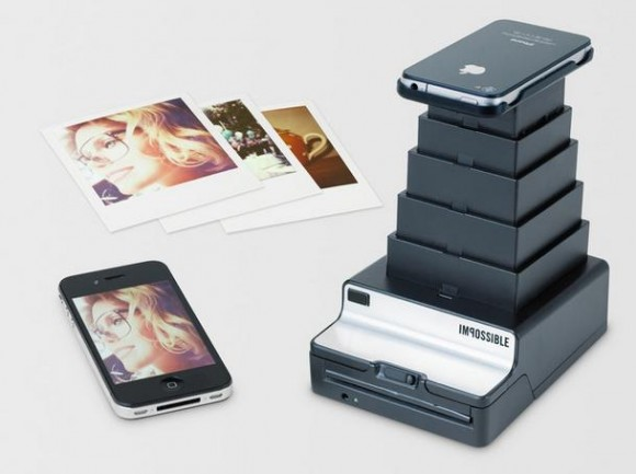 もうiPhoneさえあれば十分かも!? あなたのiPhoneで撮影した画像がポラロイド写真になる!