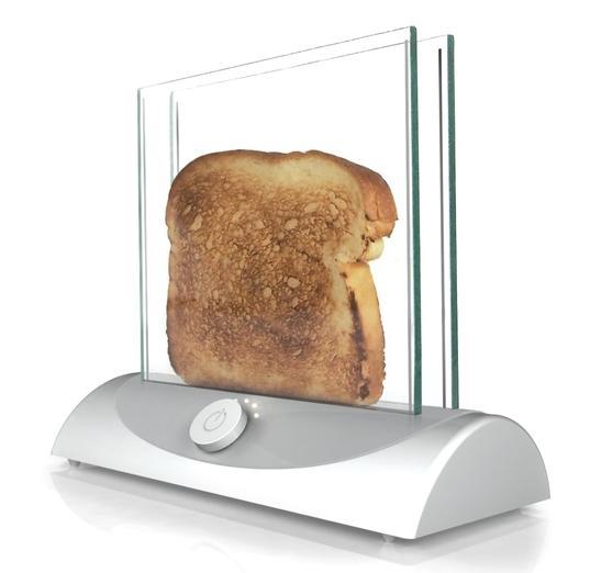 これは斬新! なにもかもが丸見えな近未来的ビジュアルのトースターを発見したぞぉっ