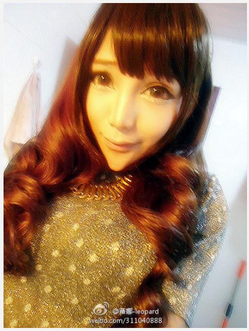 """アゴがトンガリすぎて世界的に有名になった中国美少女モデルの今 / トンガリは健在で """"すっぴん写真"""" も激しく公開中!"""