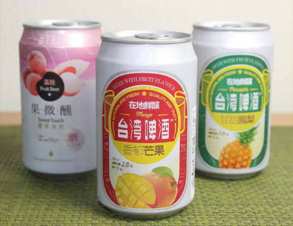 ついに上陸! 台湾で話題の『マンゴービール』と『パイナップルビール』が日本でも買えるようになったよ!  まろやかトロピカルでお酒の味が苦手な人にもオススメ☆