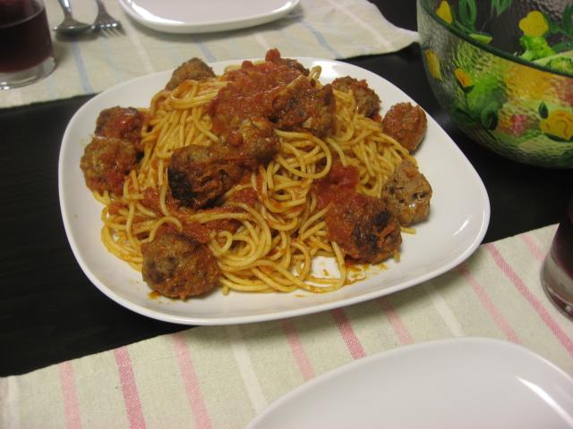 【ジブリ飯】 肉汁ジュワ~!! 『カリオストロの城』でルパンと次元が奪い合って食べた「ミートボールスパゲッティ」を作ってみたよ!