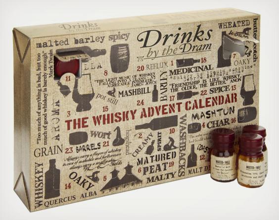 大人だってワクワクしたいっ! クリスマスまで毎日日替わりでウィスキーを楽しめるカウントダウンカレンダー