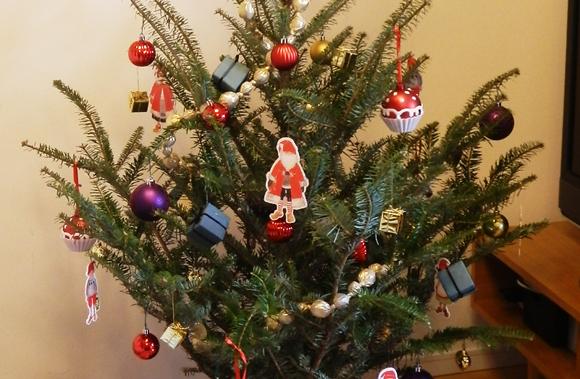 IKEAで生のモミの木を買ってきたら部屋がいきなりクリスマス感MAXに! これは本気で北欧にいる気分になってきた!!