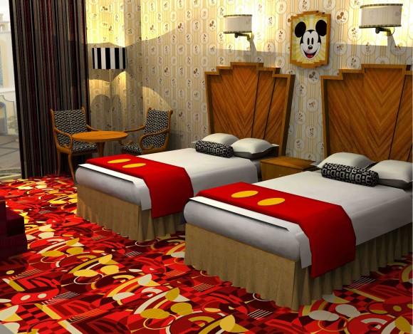 ディズニー好き必見~ッ! アンバサダーホテルに「ミッキーマウスルーム」や「ミニーマウスルーム」が登場しちゃうぞ~っ!!
