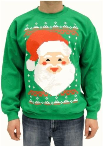 ダサい柄のクリスマスセーター専門店発見! どのセーターもホントにダサすぎて、ある意味新鮮