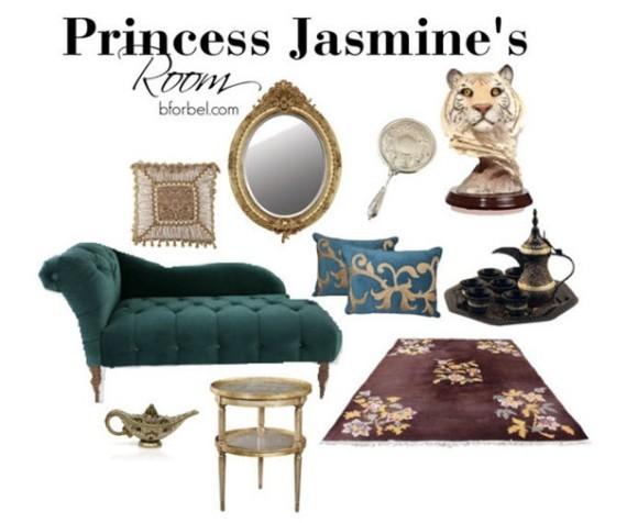 ディズニープリンセスのお部屋が実際にあったら? 家具や調度品があまりに素敵すぎてうっとり♪