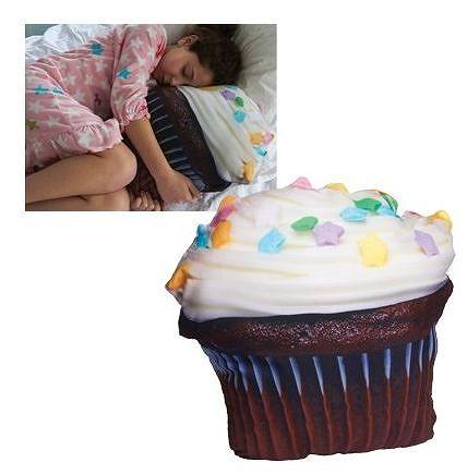甘~い夢を見られそう! カップケーキやクッキーアイスのかたちの枕がかわいい!!