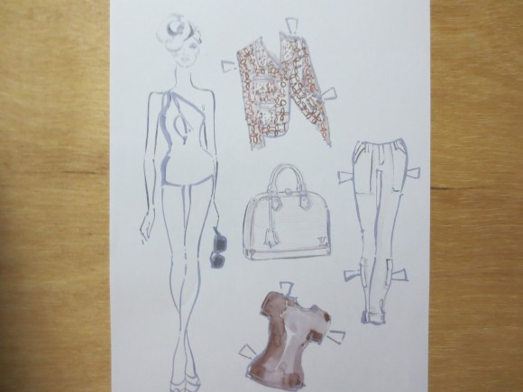 な、な、なんと、ルイ・ヴィトンが着せ替え人形を発表! デザイナー気分であれこれコーディネートを楽しめちゃうよ~!