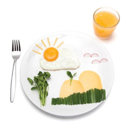 朝食にキャラ弁に大活躍! 雲と太陽の目玉焼きが作れるかわいいシリコン型