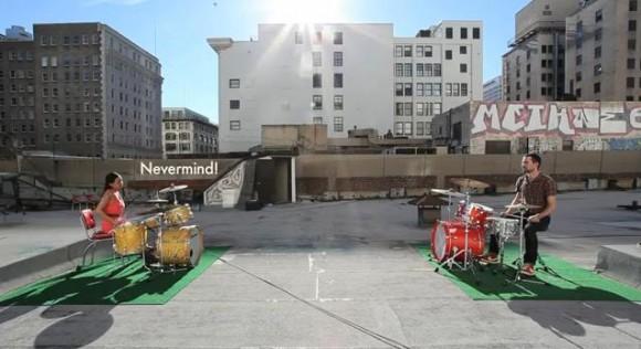 【動画】ドラムで会話するカップルの様子をご覧ください
