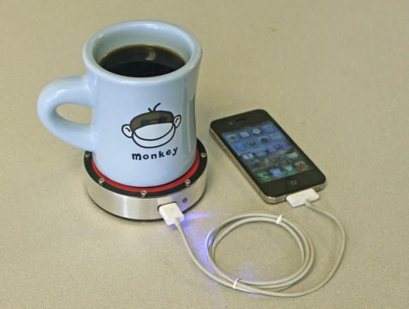 ぜひ実現化してほしい! 飲み物の温度で携帯電話を充電できちゃう便利アイテム『Epiphany onE Puck』