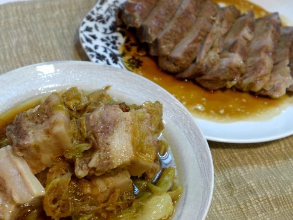 【ウマすぎ注意】1度の調理で2種類楽しめる! 炊飯器を使ったハワイ風豚の蒸し焼き『カルア・ピッグ』の作り方