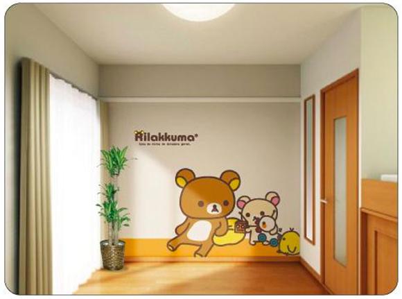 こんなサービスあったんだ! レオパレス21には「入居時に無料で壁紙を1面変えられるサービス」がある / 今なら「リラックマの壁」にすることも可能!!