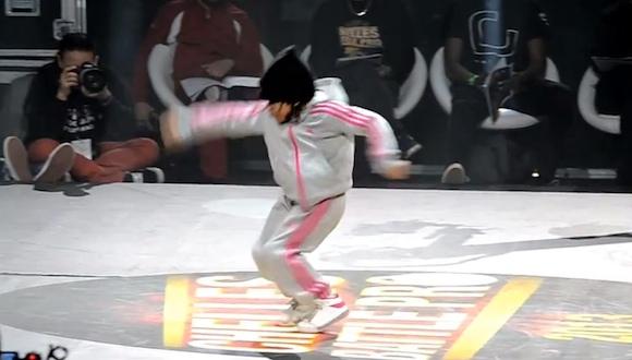 若干6歳のBガール! ハイレベルな「ブレイクダンス」と好戦的な「パフォーマンス」の動画がヤバすぎると話題に