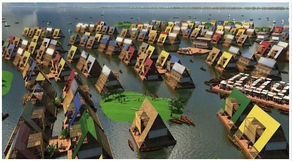 耐震構造には日本のシステムも! 「水に浮かぶ住居」がナイジェリアの巨大スラムを救う!?