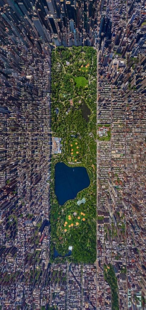 リアルな浮遊感がたまらない!! ニューヨークを上空から360度見渡すことができるサイト「AirPano」