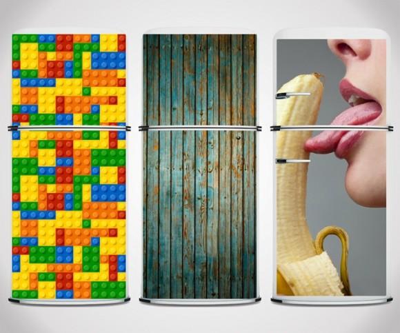 冷蔵庫も可愛くなきゃイヤッ! そんな女子の欲望を叶えてくれる「冷蔵庫デコレーション用マグネットシート」を発見♪