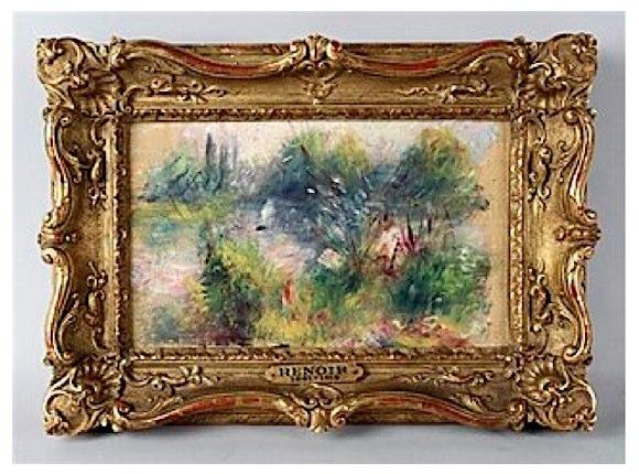 真相はいかに!? フリーマーケットで「発見」された巨匠ルノワールの絵画をめぐるミステリー