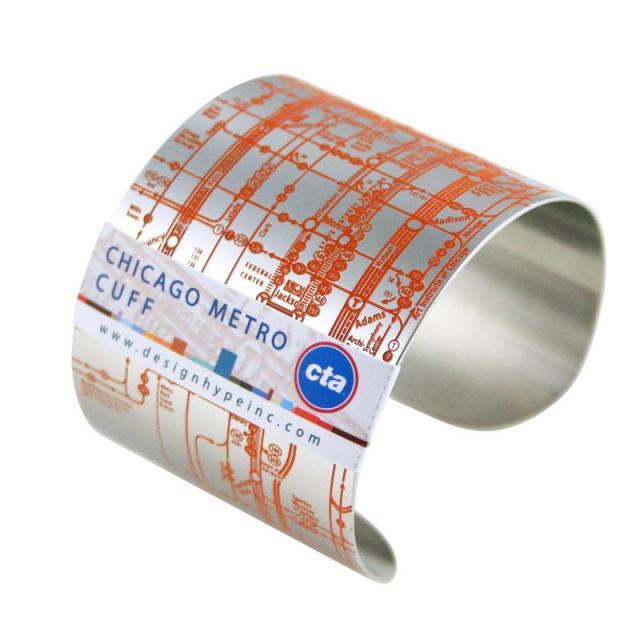海外旅行のお共にいかが? 地下鉄路線図が印字されているメトロマップブレスレットが便利で可愛い!