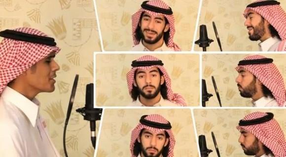美しい旋律とアラビア語のハーモニー…超美声アカペラボーカリストを今度はサウジアラビアで発見!