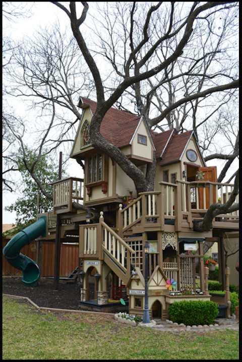 これぞ子供の頃の憧れ! ジイとバアが孫のために作った史上最強の「ツリーハウス」がスゴイよ