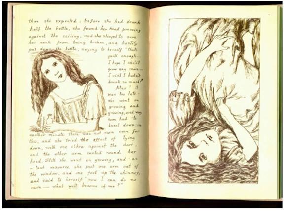 ながめているだけで面白い! 世界古典文学の貴重な手書き原稿の数々「星の王子さま」「地下の国のアリス」など