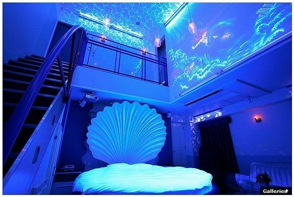 神戸にはリトル・マーメイドの気分で過ごせるホテルがある/貝殻のかたちのベッドが超絶かわいいの!
